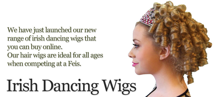 Irish Dancing Wigs
